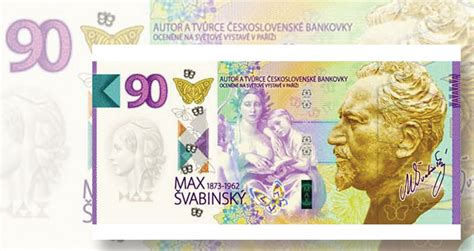 Czech Republic releases special 90-crown note | Coin World