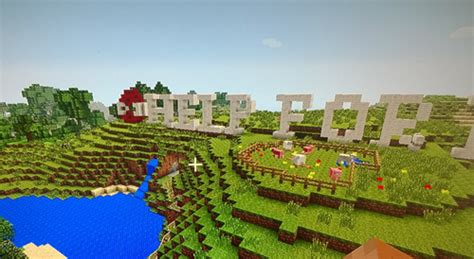 MINECRAFT: Building the world with 'digital Lego' - Help
