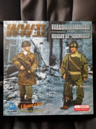DID 1/6 Scale WWII German/Russian Gunther Meyer & Evgeny