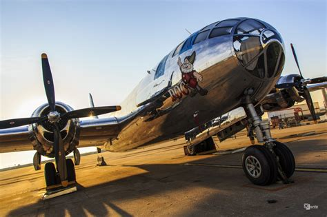 """Air Museum Network – Newly Restored Boeing B-29 """"Doc"""
