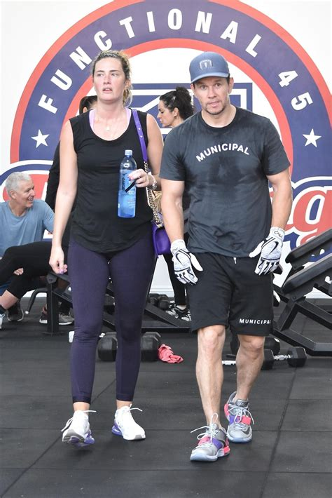 Shirtless Mark Wahlberg Sweating It Out at F45 in Studio