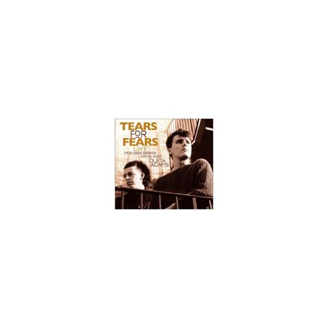 Tears For Fears - Live From Santa Barbara - CD | DMshop
