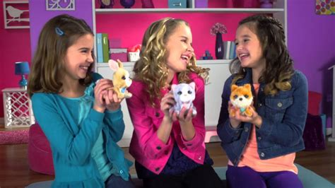 FurReal Friends US | Luvimals Spring 2015 - YouTube