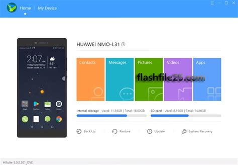 Download and Backup Huawei Android Device Using Huawei
