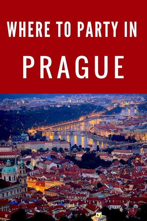 Where to Get Your Party On in Prague - The Abroad Guide