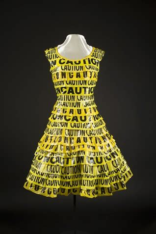 Caution Dress | Recycle Runway