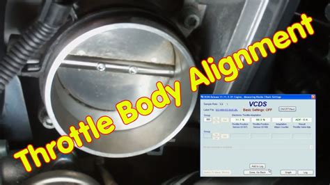 How to do the Throttle Body Alignment with VCDS - YouTube