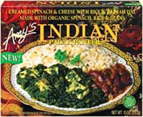 Three Indian Meals from Amy's : Dr
