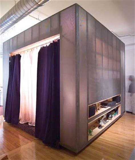enclosed bed   Bedrooms   Pinterest