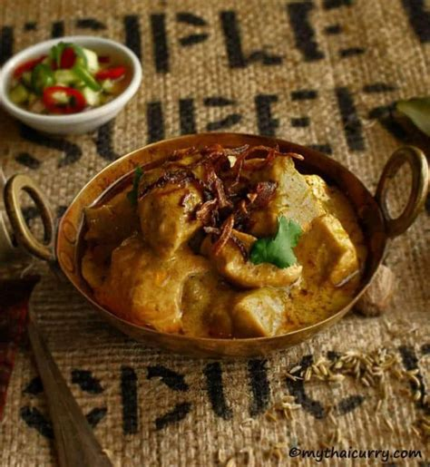Thai Yellow Curry mild and Indian influenced